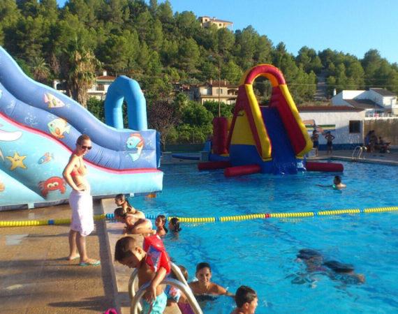 hinchables piscina niños